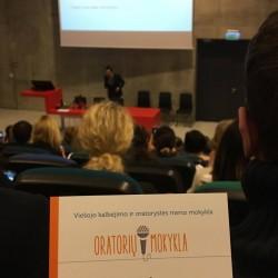 Oratorių mokyklos lektorius dalyvauja pirmą kartą organizuojamoje viešojo kalbėjimo konferencijoje 2017 m. Lietuvoje ir dalinasi savo patirtimi. ;) O Tu ar buvai čia?