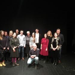 Oratoriai užkariavo Kauno kamerinį teatrą, ačiū, kad taip įdomiai leidome du žiemos mėnesius, metų pradžia tikrai PUIKI. ;)