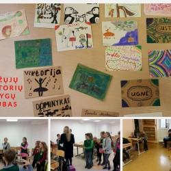 """""""Mažųjų Oratorių knygų klubas"""" prasideda! :) Su mažaisiais oratoriais gaminome vizitines korteles ir jas pristatinėjome, visi dalyviai tokie įdomūs ir turintys ką papasakoti. :)"""